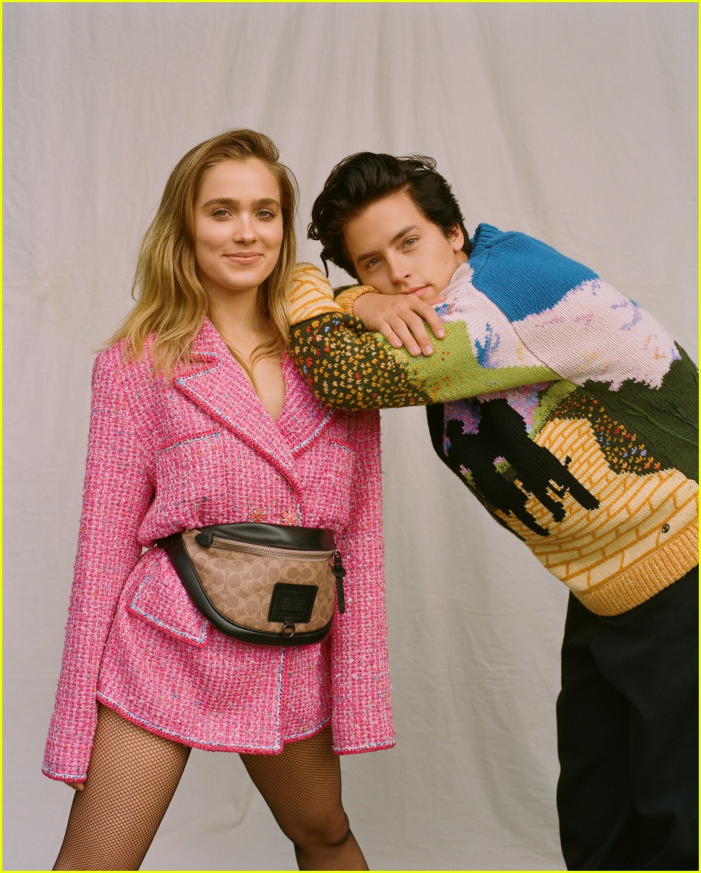 cole sprouse talks riverdale and five feet apart with haley lu richardson 03
