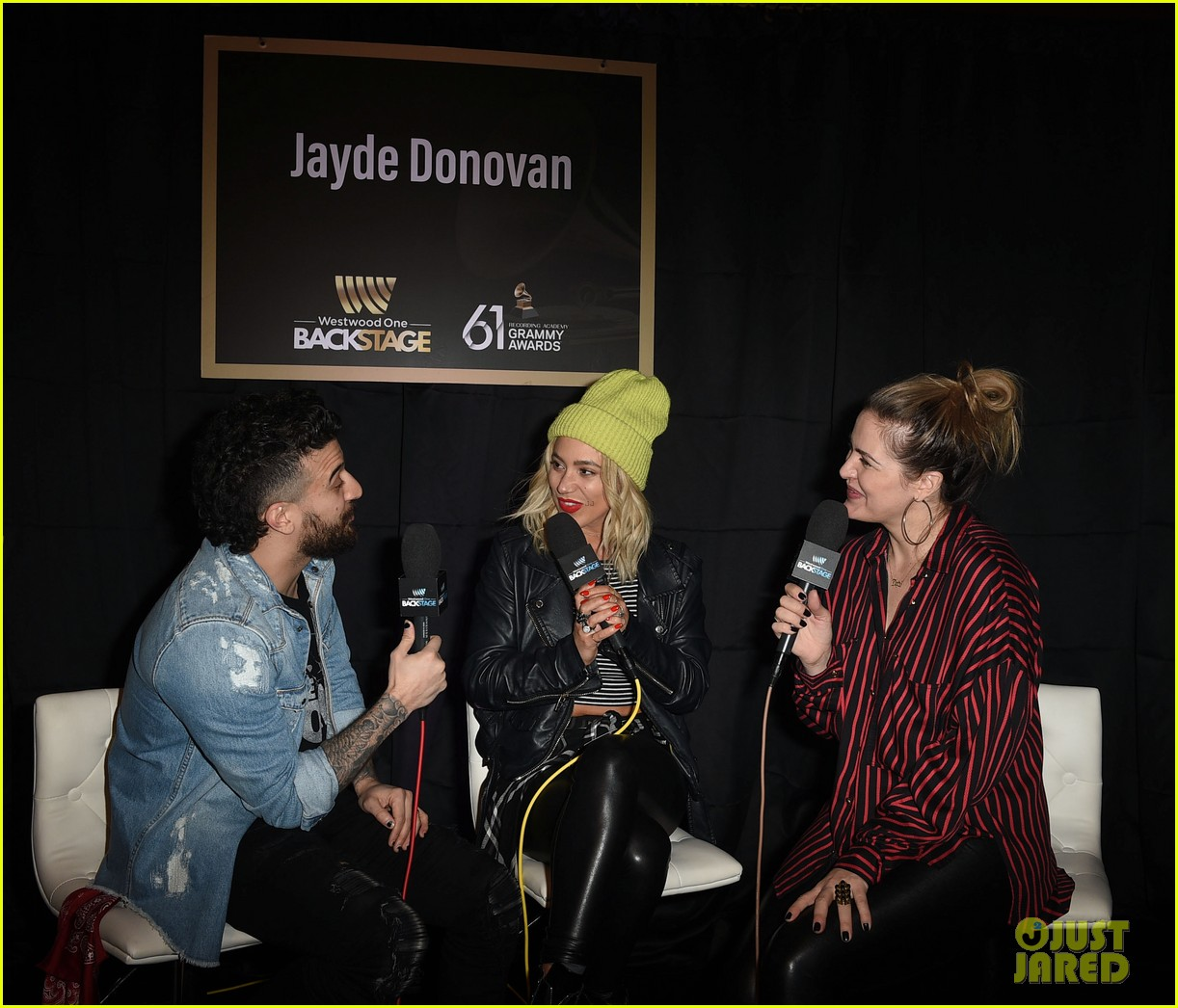 lennon stella joins sky katz and in real life at pre grammys 2019 event 14
