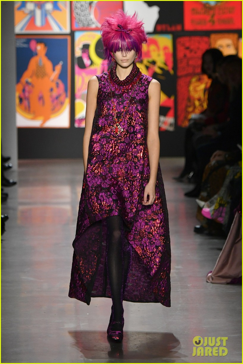 Grace Vanderwaal Attends The Anna Sui Fashion Show