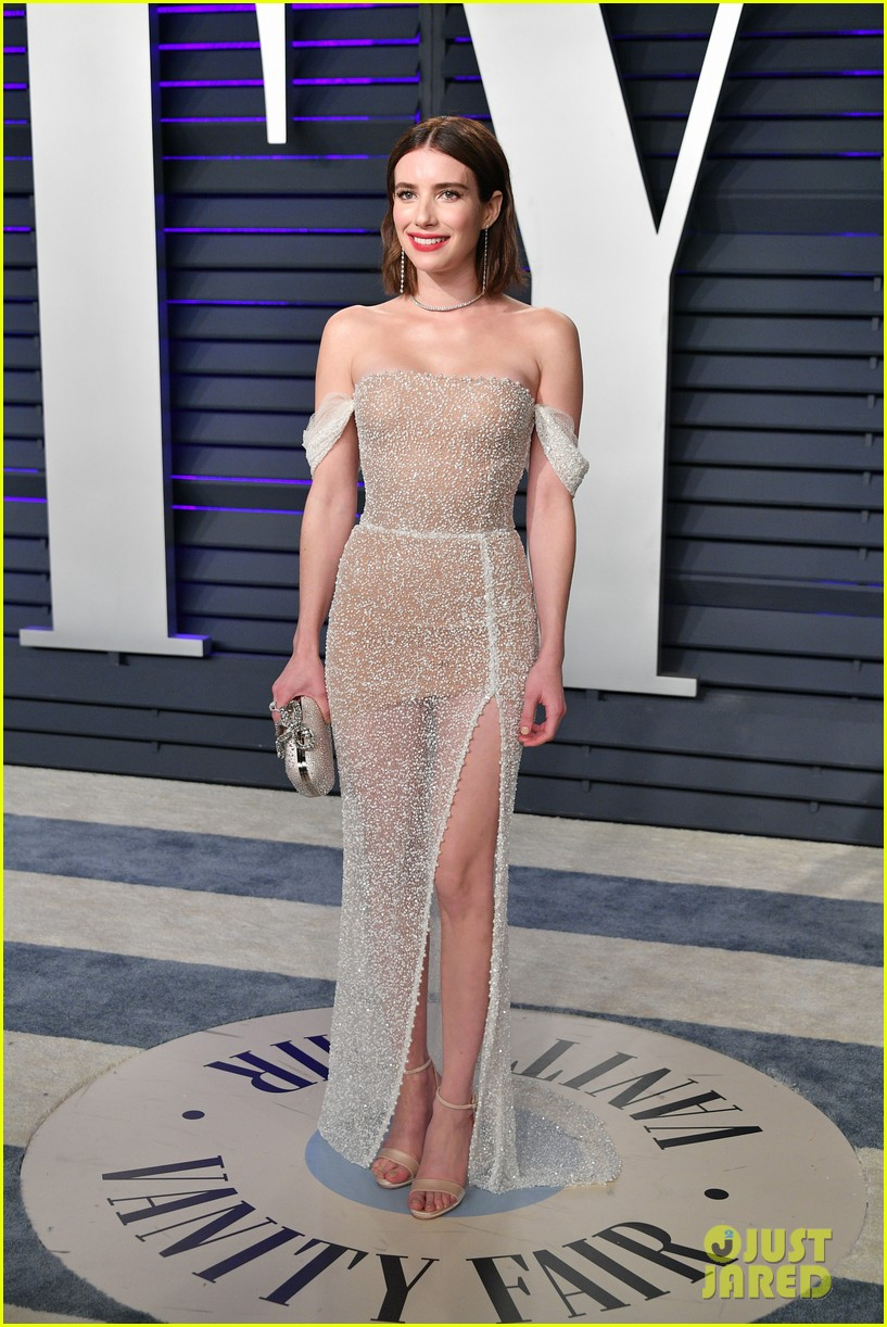 shailene woodley emma roberts and chloe moretz get glam for vanity fairs oscars 2019 party 02