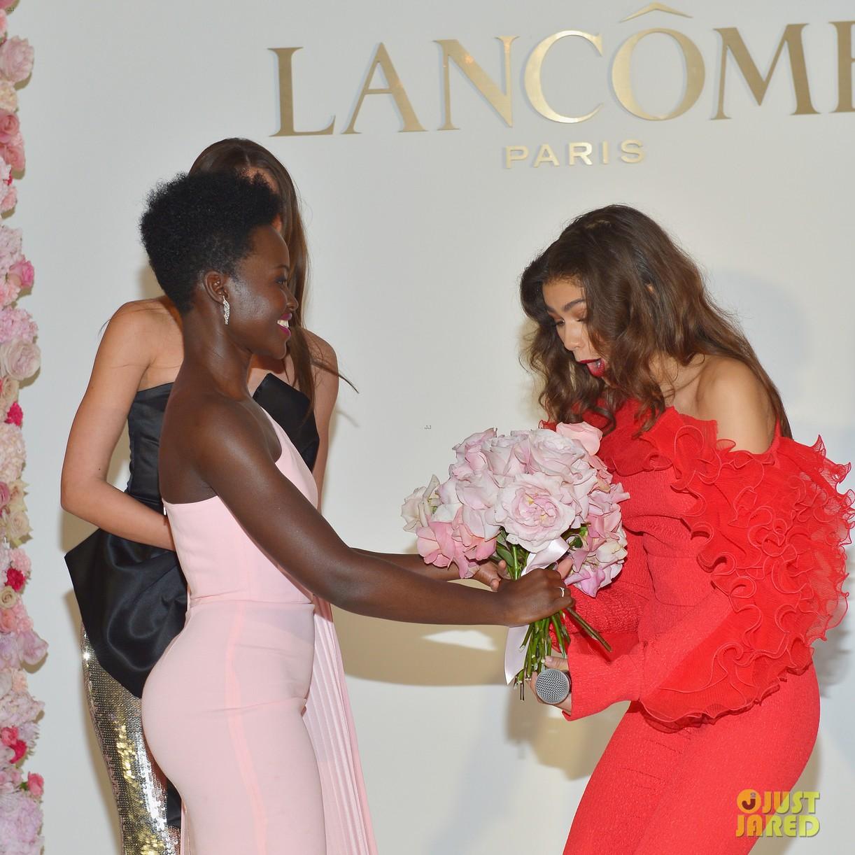 zendaya new lancome ambassadress lupita nyongo 11