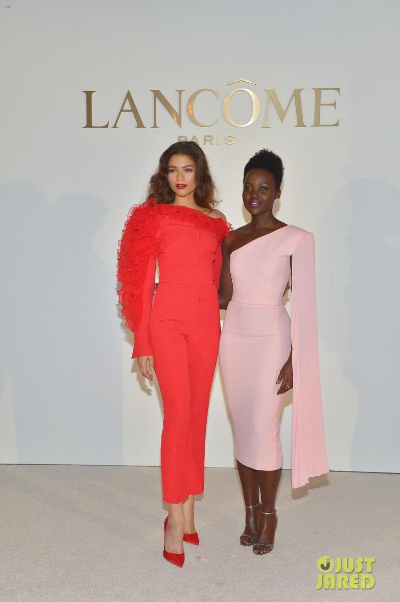 zendaya new lancome ambassadress lupita nyongo 17