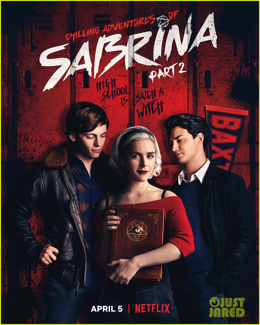 chilling adventures of sabrina season 2 gets release date and poster 03