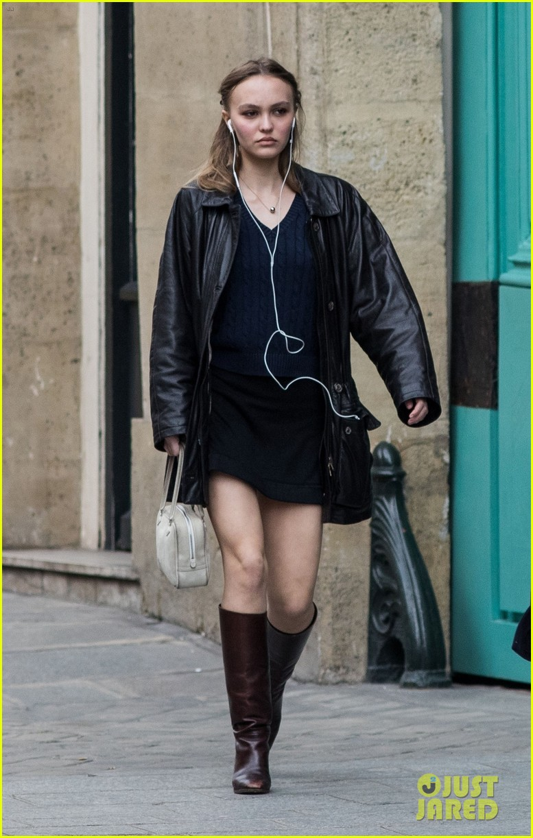 lily rose depp cuts a chic figure while stepping out in paris 02