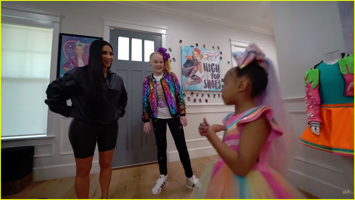 jojo siwa babysits north west watch now 08