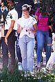 kardashian jenners attend kanye west church service 07