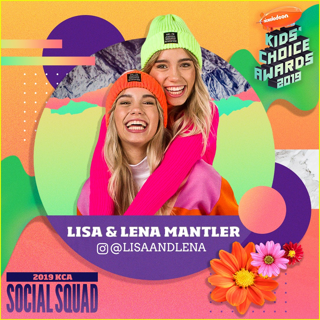 max and harvey lisa and lena and more stars nickelodeons kca 2019 social squad 02