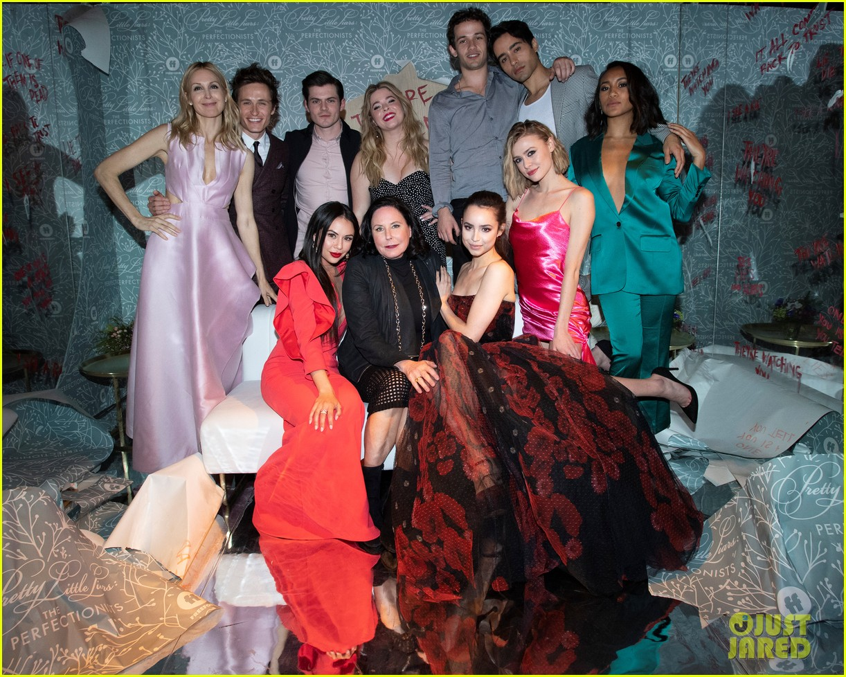 cast of pll the perfectionists stun at los angeles premiere 03