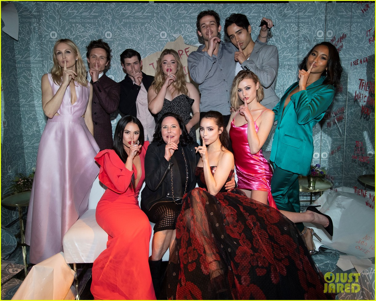 cast of pll the perfectionists stun at los angeles premiere 20