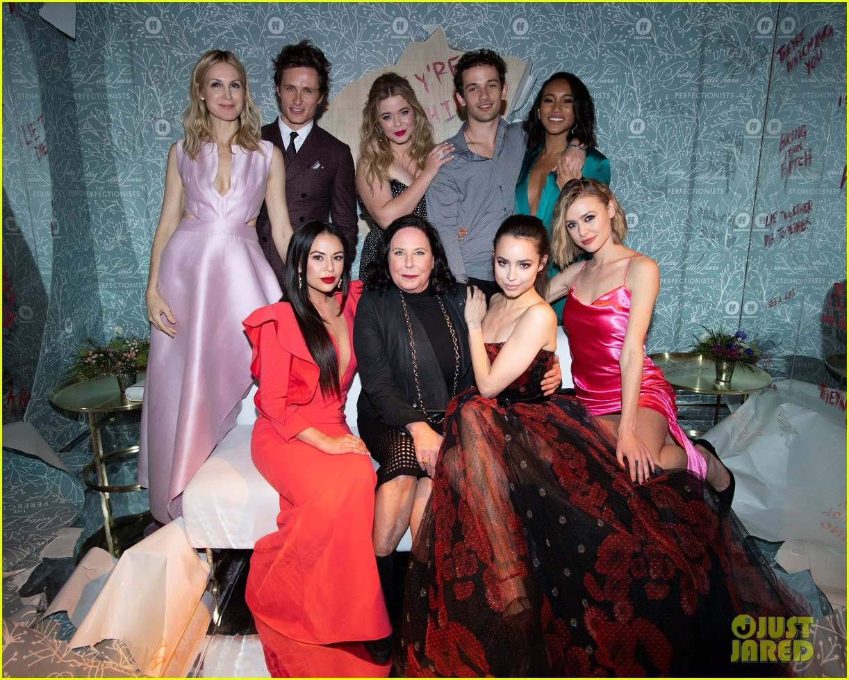 cast of pll the perfectionists stun at los angeles premiere 21