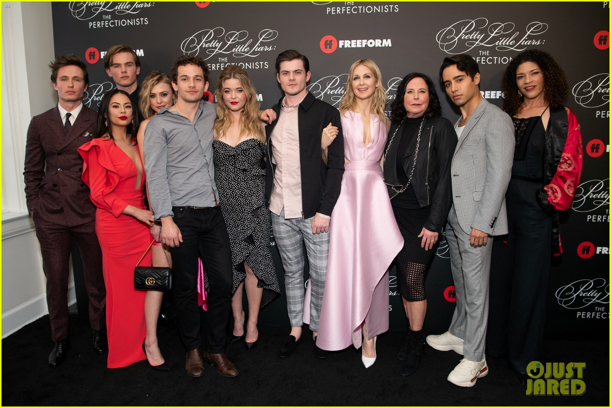 cast of pll the perfectionists stun at los angeles premiere 37