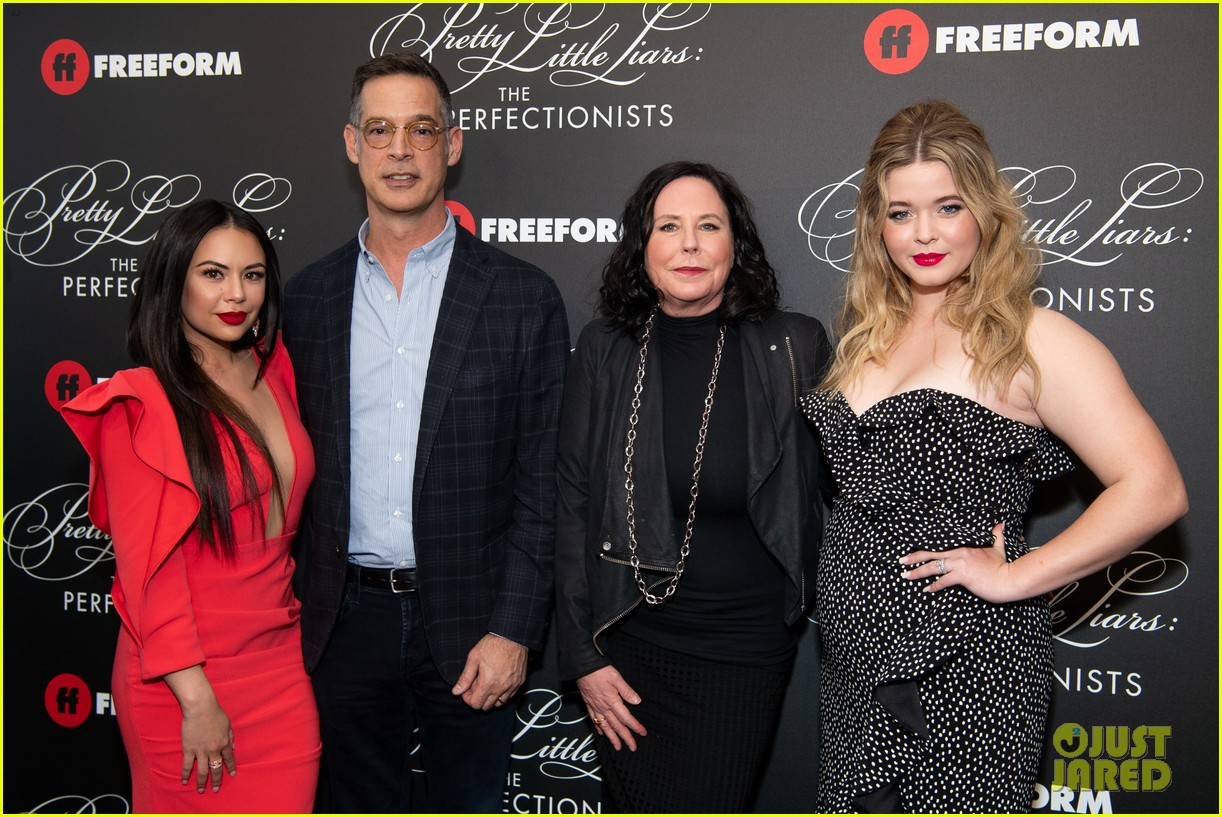 cast of pll the perfectionists stun at los angeles premiere 41