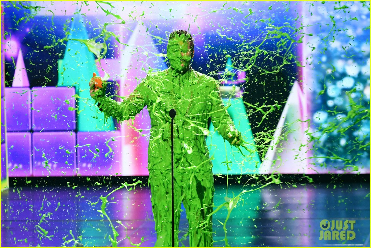 chris pratt will smith slimed kids choice awards 2019 14