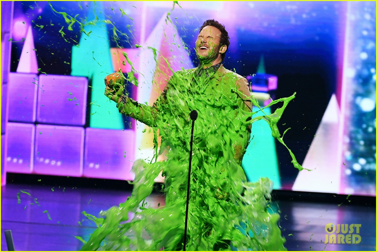 chris pratt will smith slimed kids choice awards 2019 15