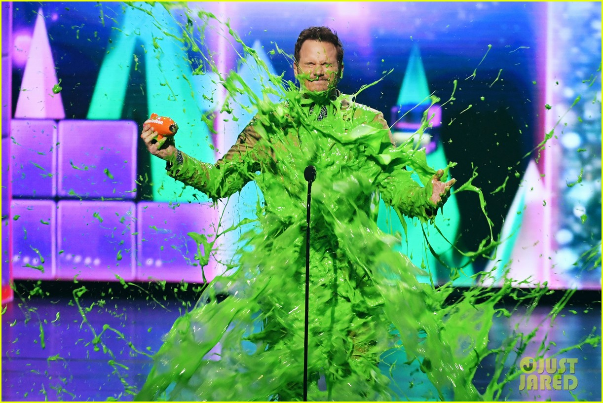 chris pratt will smith slimed kids choice awards 2019 16