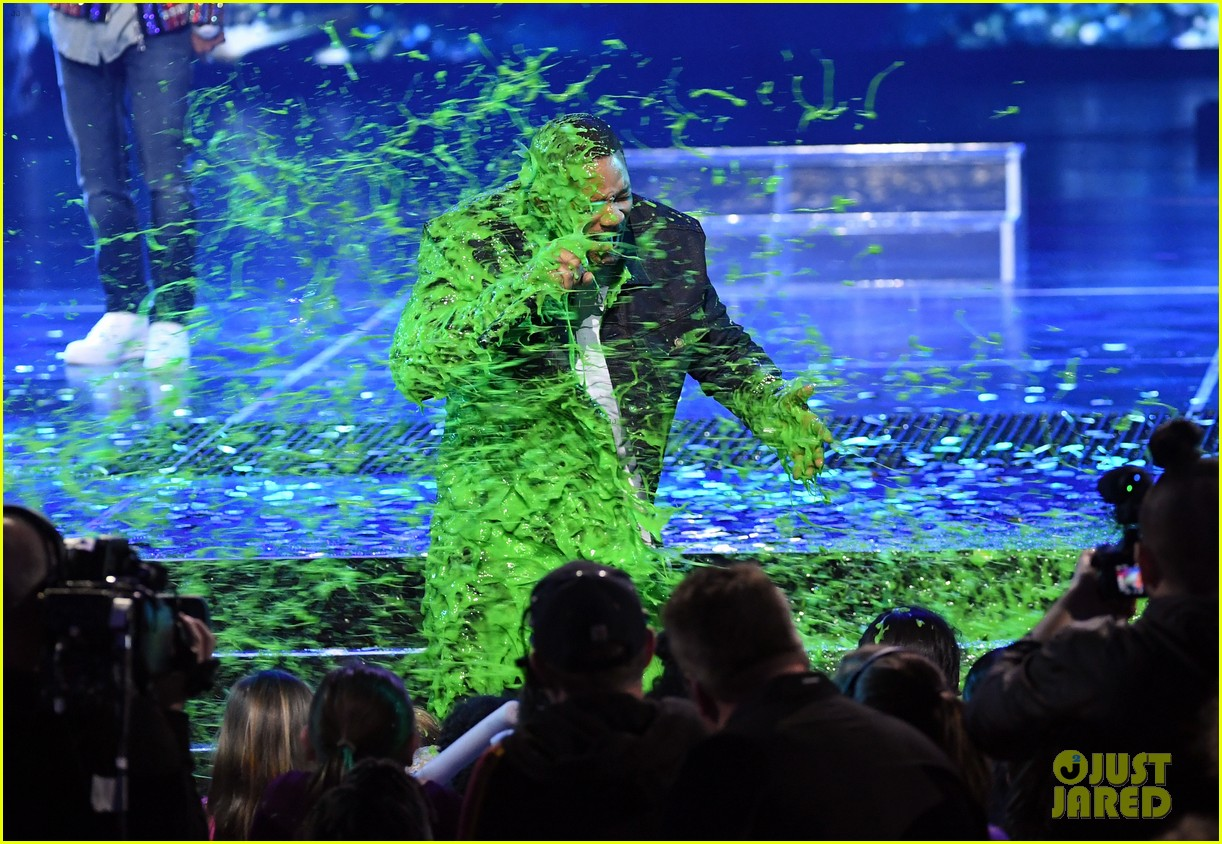 chris pratt will smith slimed kids choice awards 2019 33