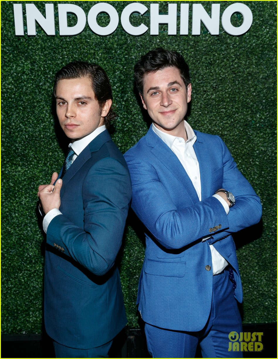 david henrie jake t austin reunite at indochino spring summer launch 08