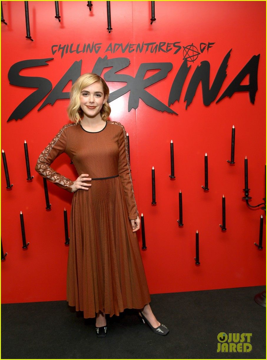 kiernan shipka debuts chilling adventures of sabrina part 2 trailer 02