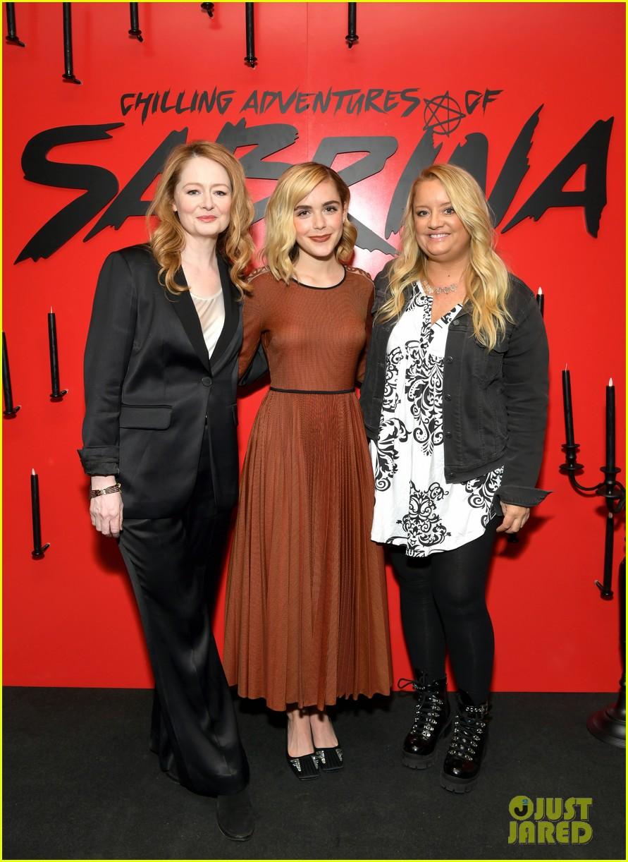 kiernan shipka debuts chilling adventures of sabrina part 2 trailer 04