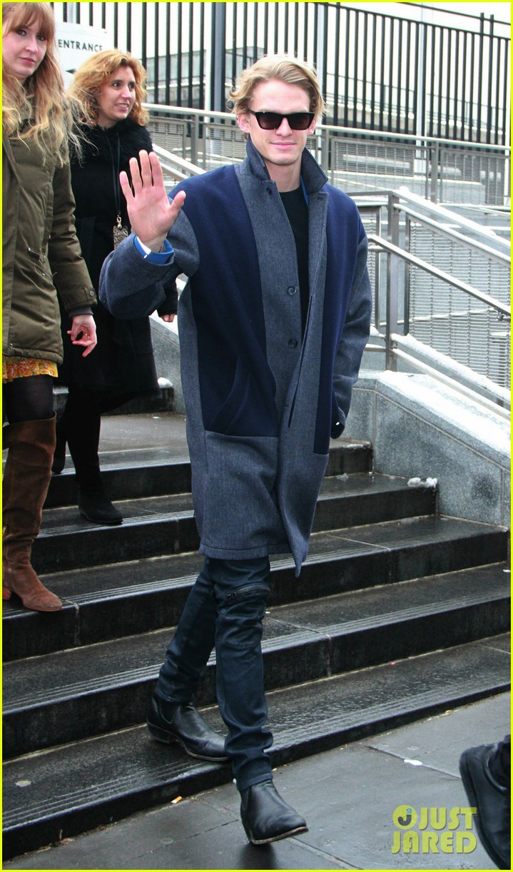 cody simpson steps out for international womens day luncheon at un 01