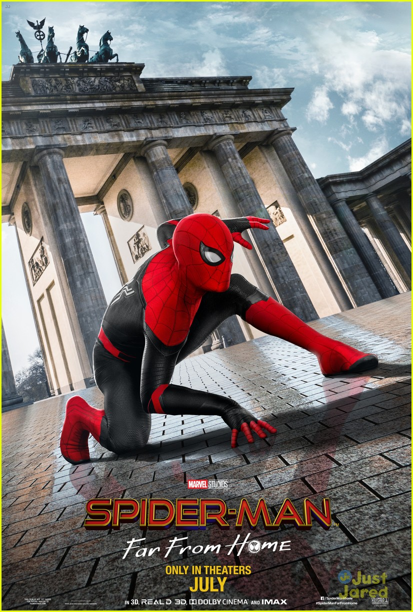 spiderman far home posters 01