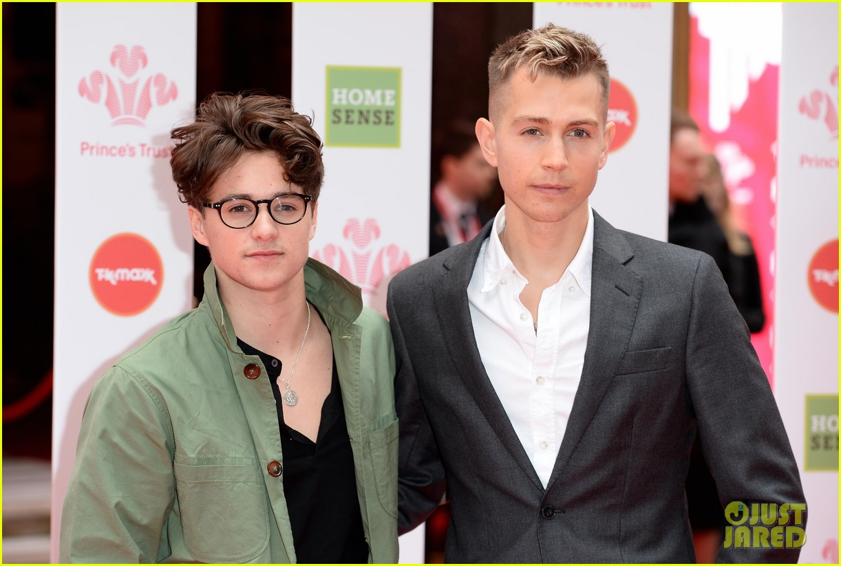 the vamps brad simpson james mcvey join nathan sykes at princes trust 10