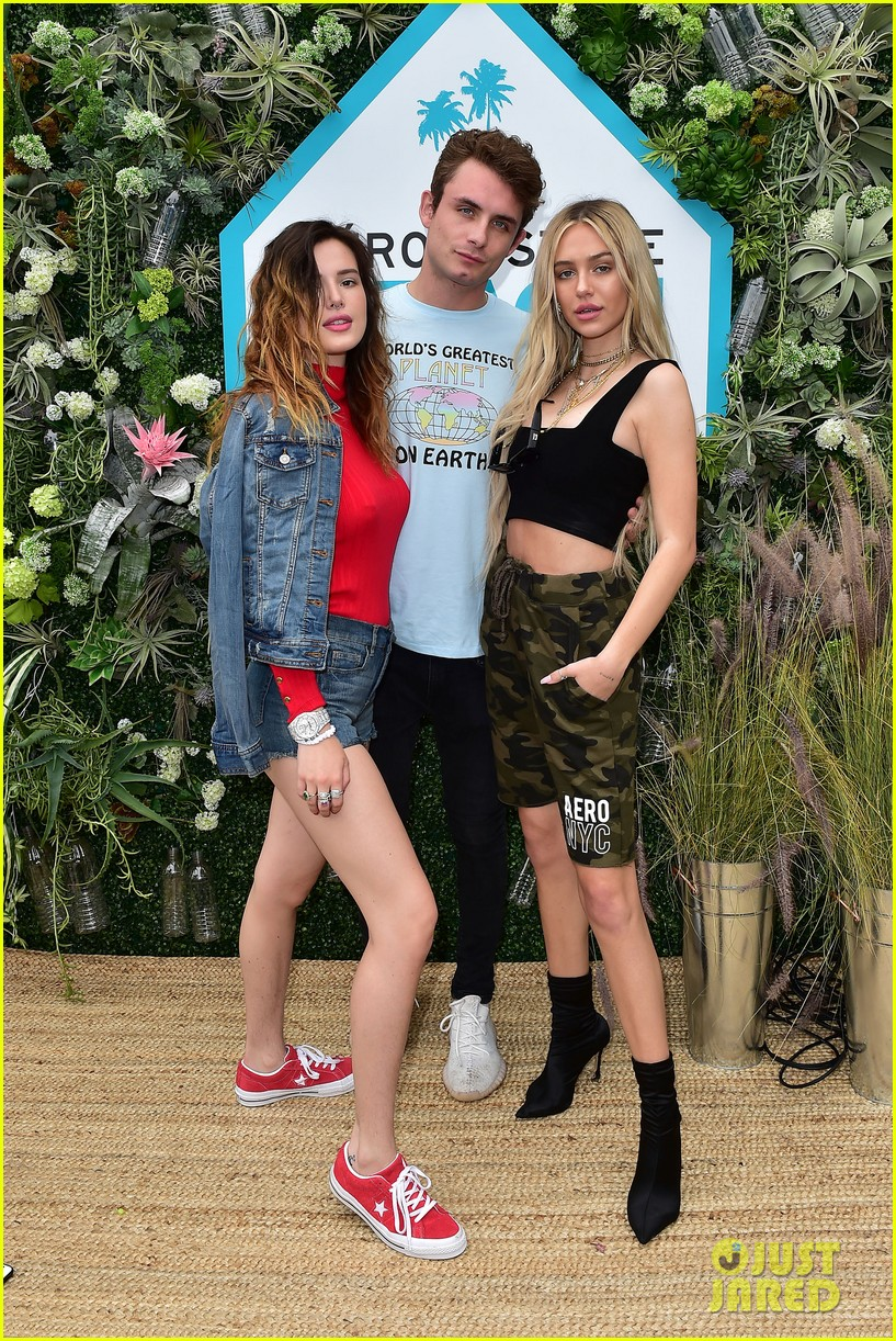 bella thorne stop by aero beach house for sustainable beach retreat 34