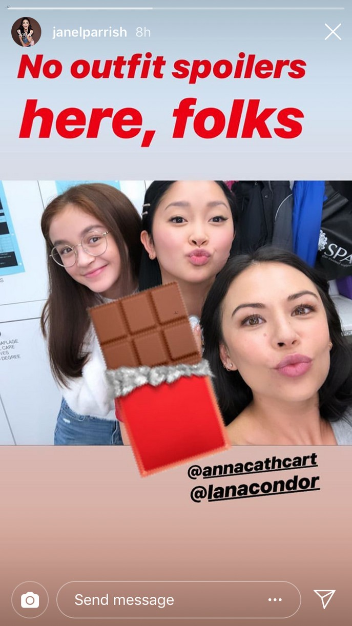 janel parrish covey sisters reunited 01