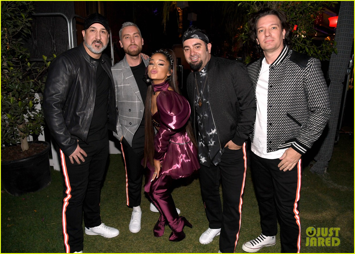 nsync join ariana grande on stage for coachella set 05