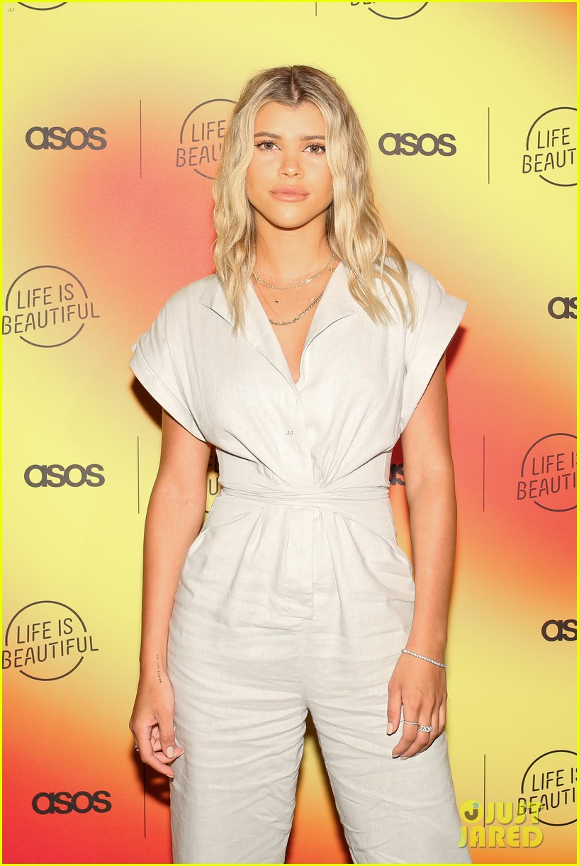 scott disick sofia richie couple up at asos life is beautiful launch party 36