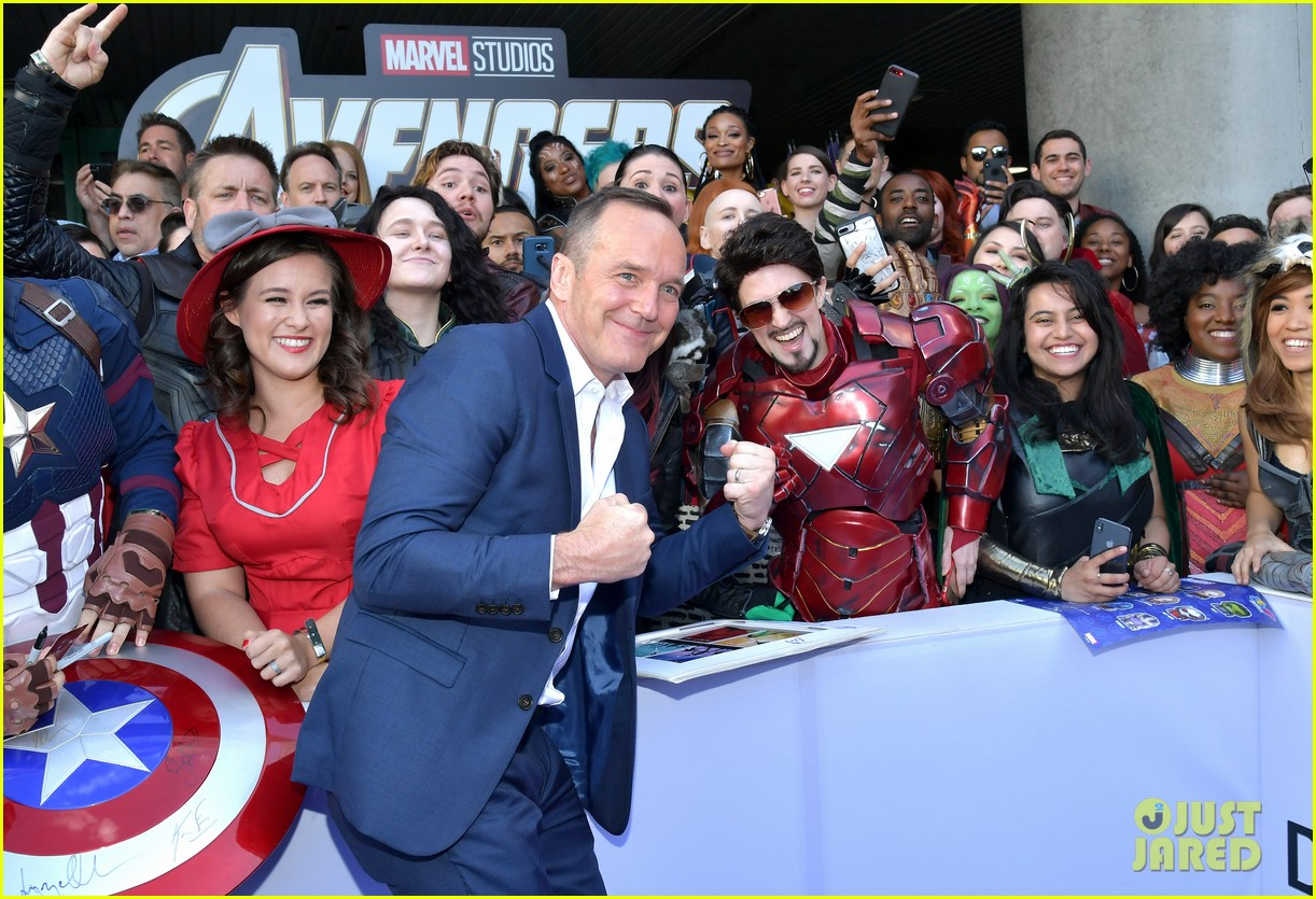 agents of shield and cloak and dagger stars avengers endgame premiere 11