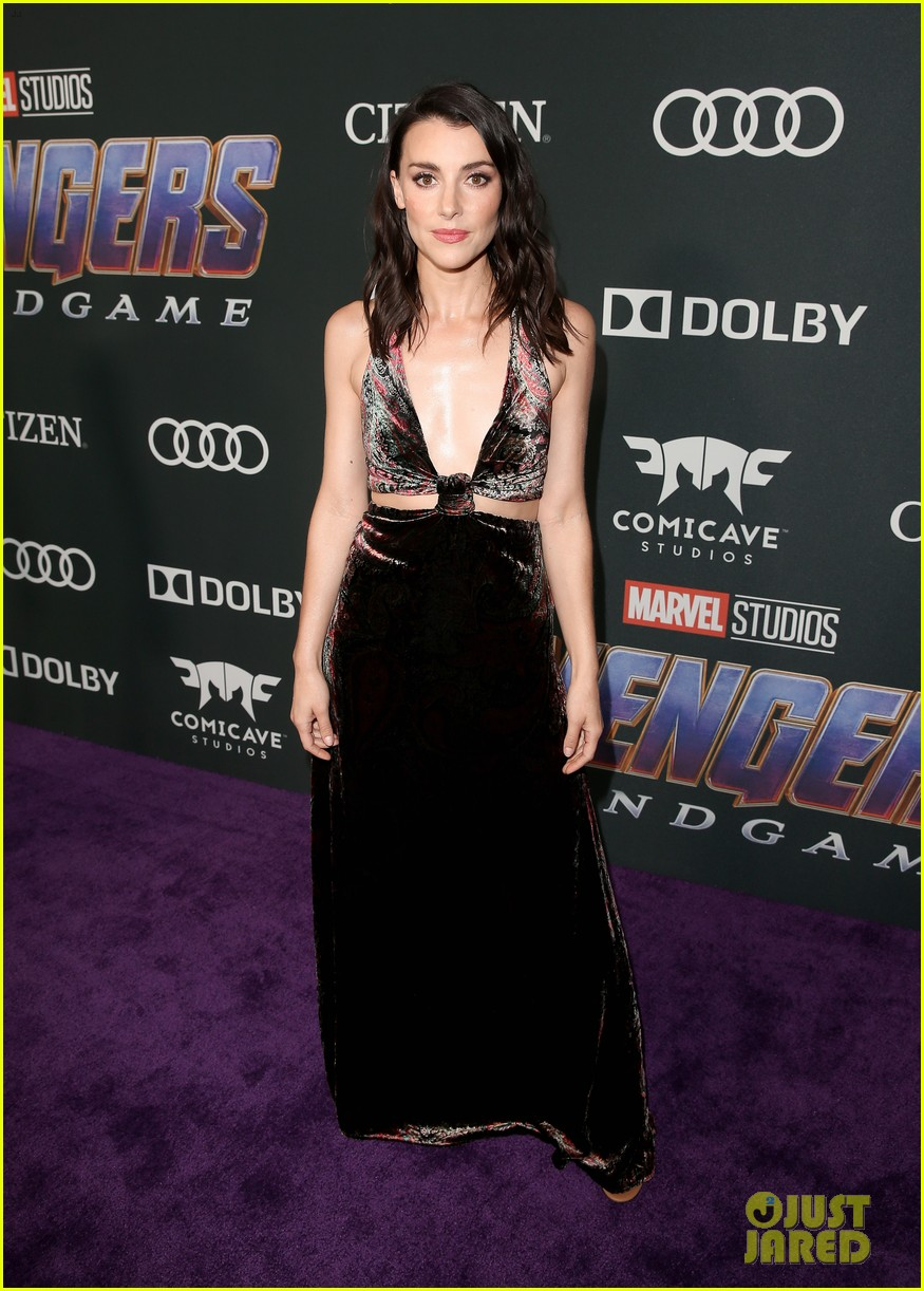 agents of shield and cloak and dagger stars avengers endgame premiere 21