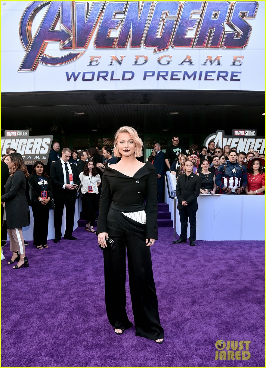 agents of shield and cloak and dagger stars avengers endgame premiere 23