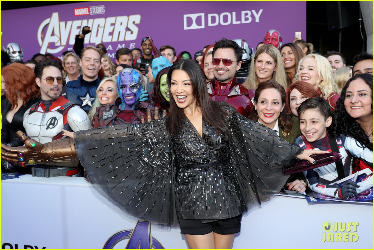 agents of shield and cloak and dagger stars avengers endgame premiere 25