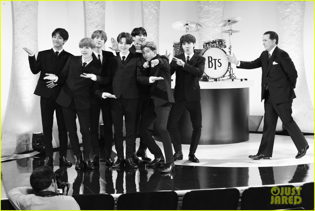 BTS late show stephen colbert beatles 01