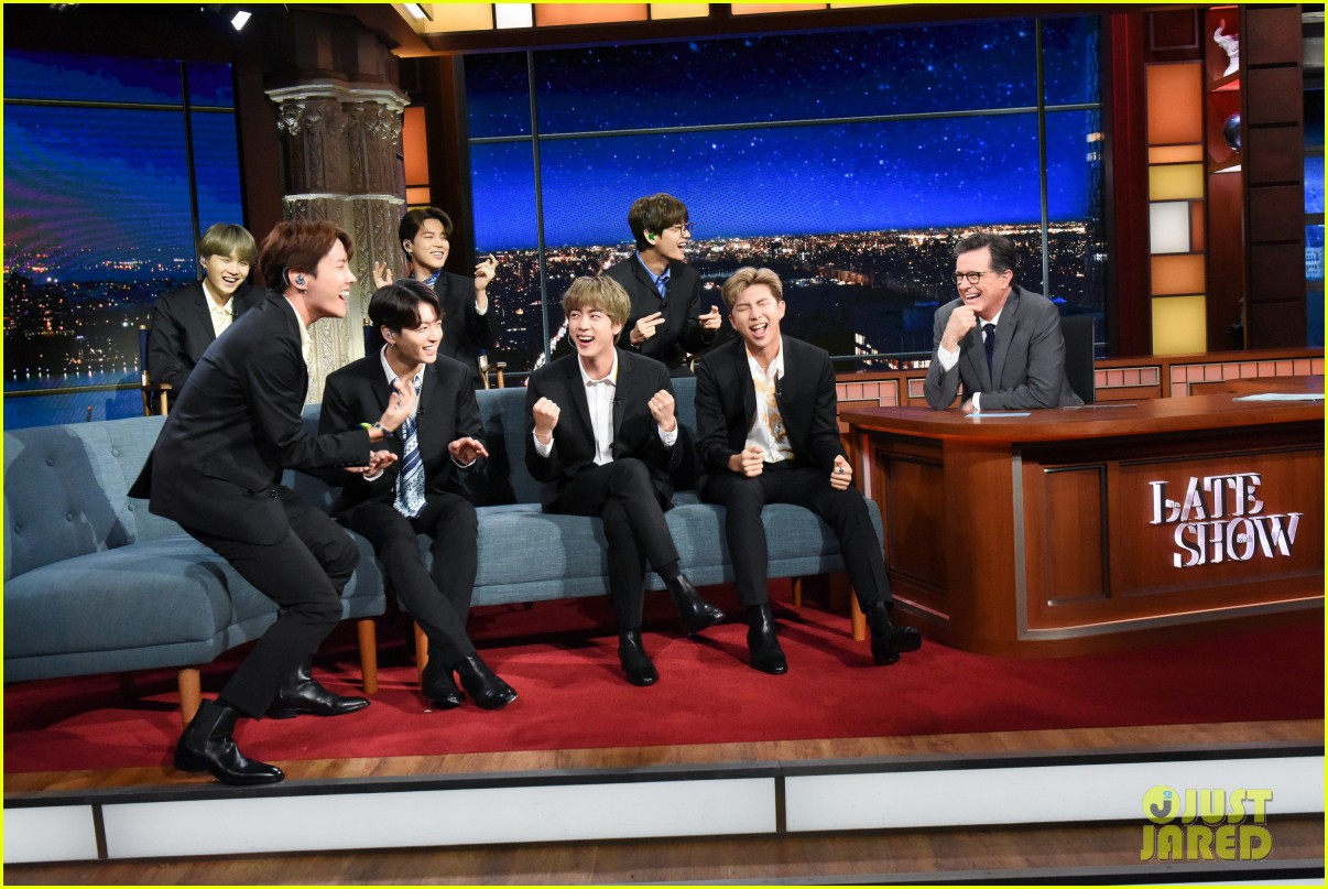 BTS late show stephen colbert beatles 04