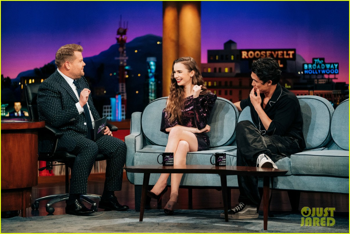 charles melton late late show appearance 01