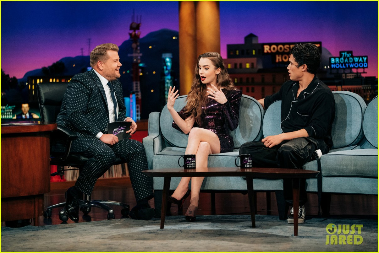 charles melton late late show appearance 05