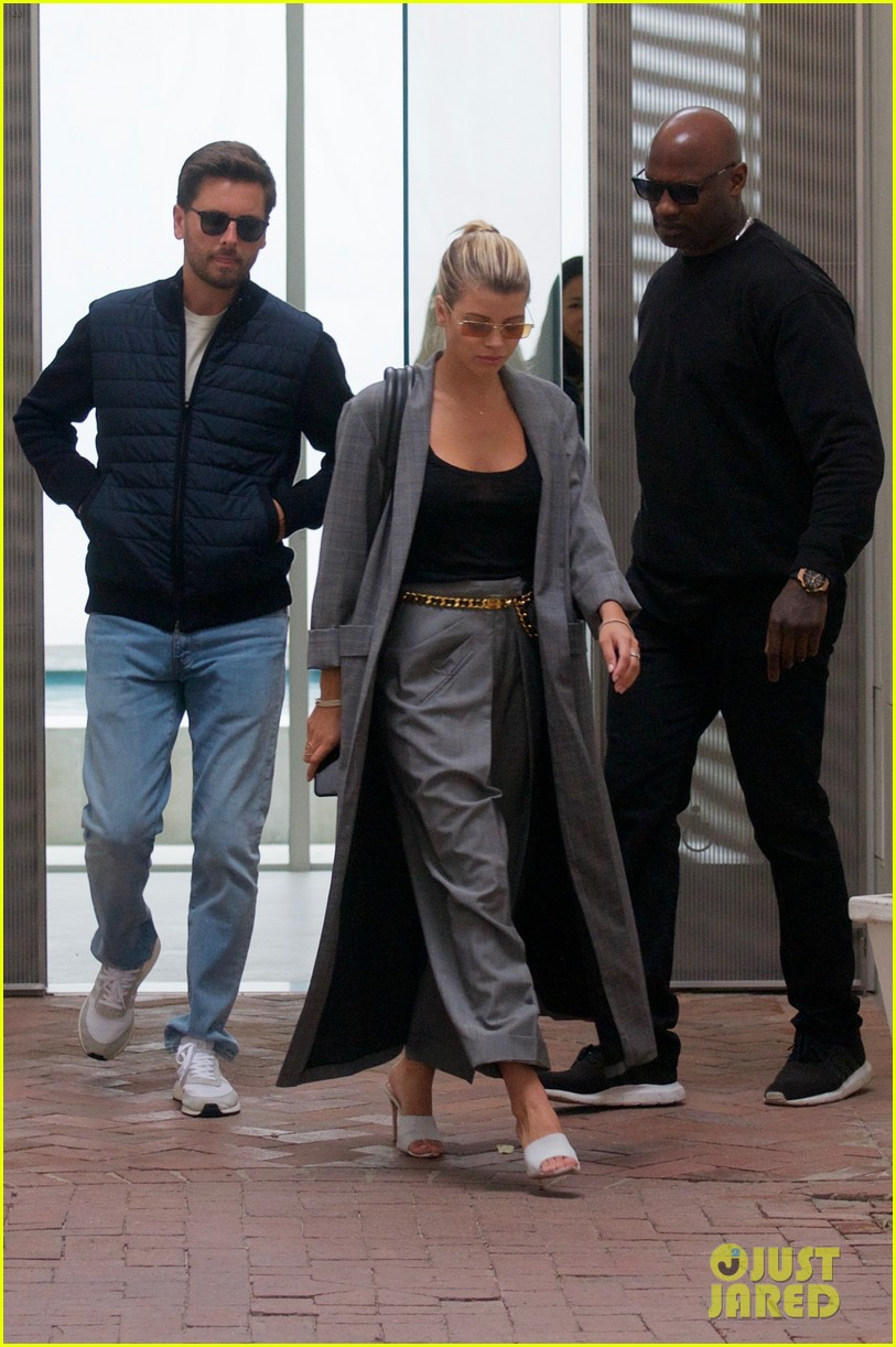 scott disick and sofia richie couple up for beverly hills lunch date 05