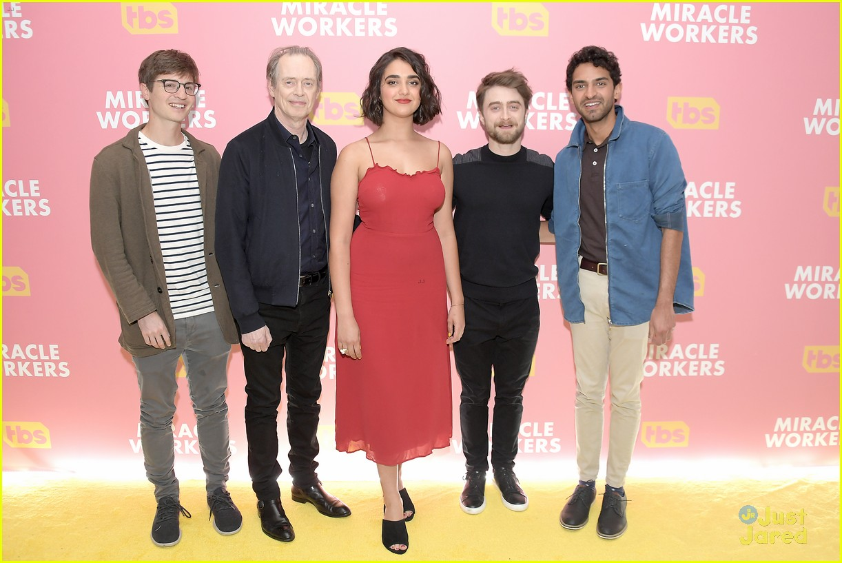 daniel radcliffe tbs miracle workers warner upfront 01