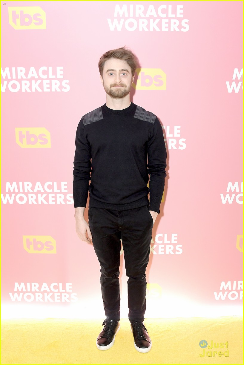 daniel radcliffe tbs miracle workers warner upfront 02