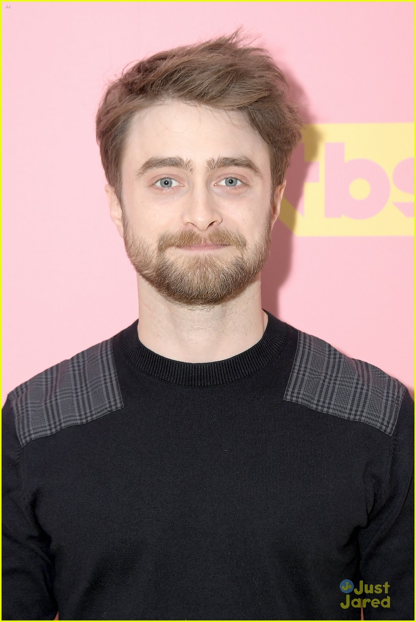 daniel radcliffe tbs miracle workers warner upfront 06