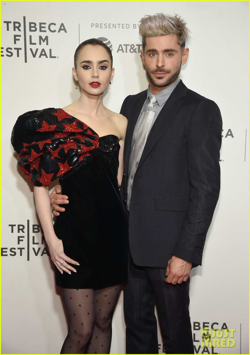 zac efron lily collins extremely wicked tribeca premiere 09