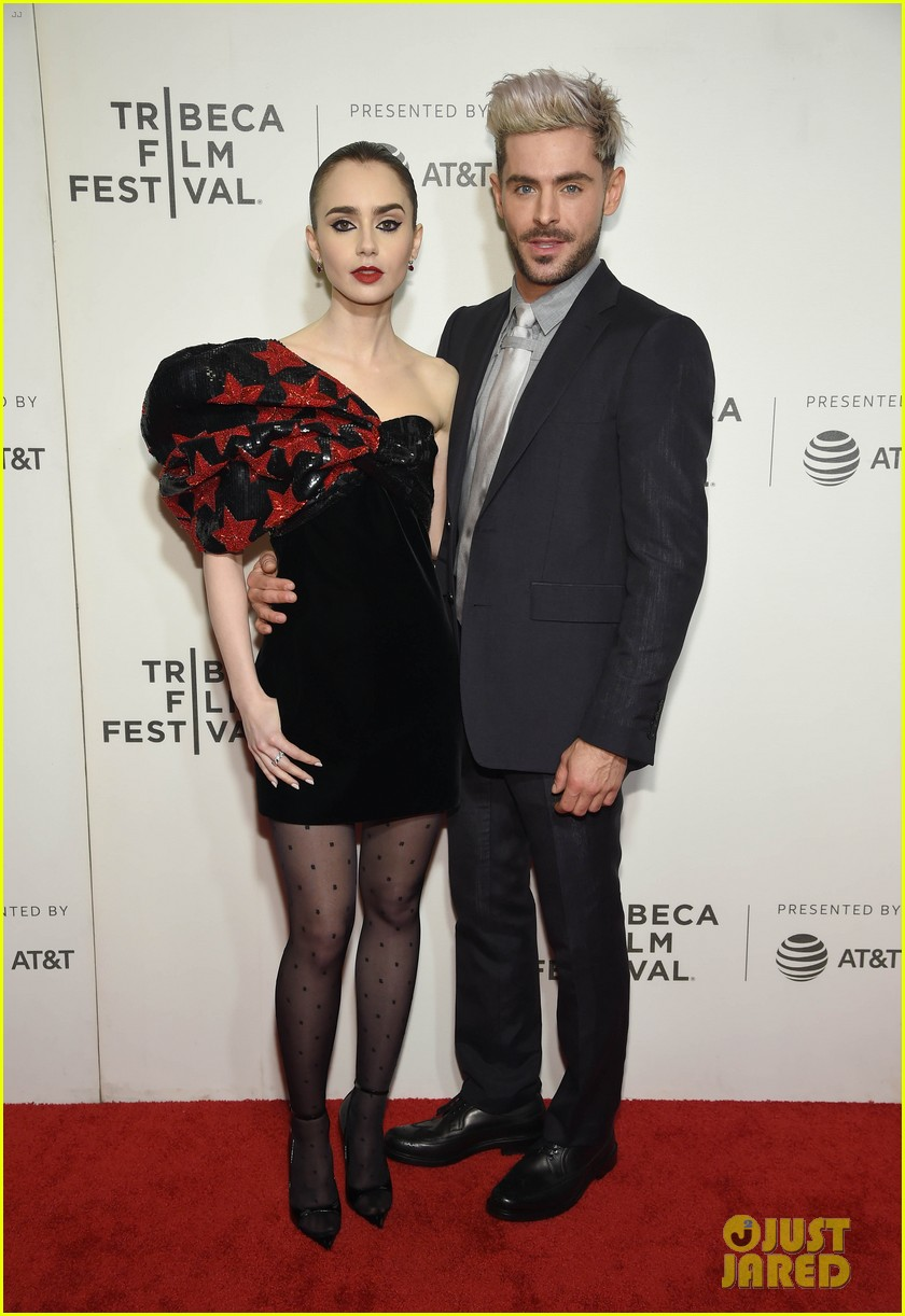 zac efron lily collins extremely wicked tribeca premiere 10