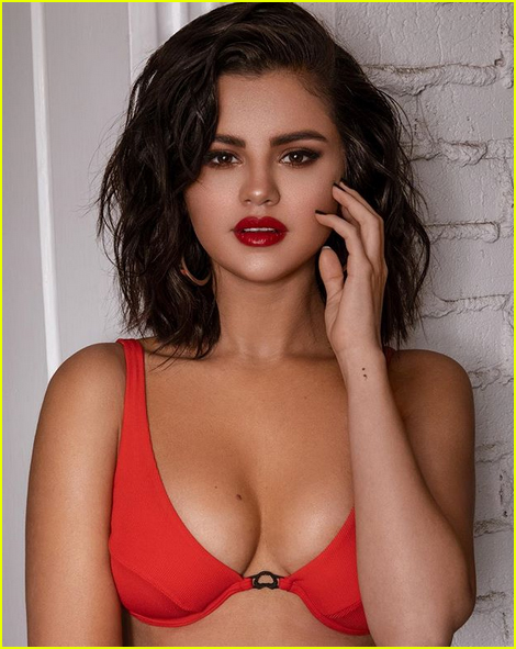 selena gomez is red hot in new krahs campaign photos 02