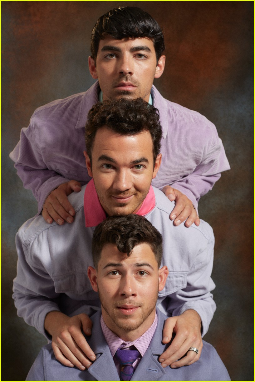 jonas brothers paper magzazine cover 16