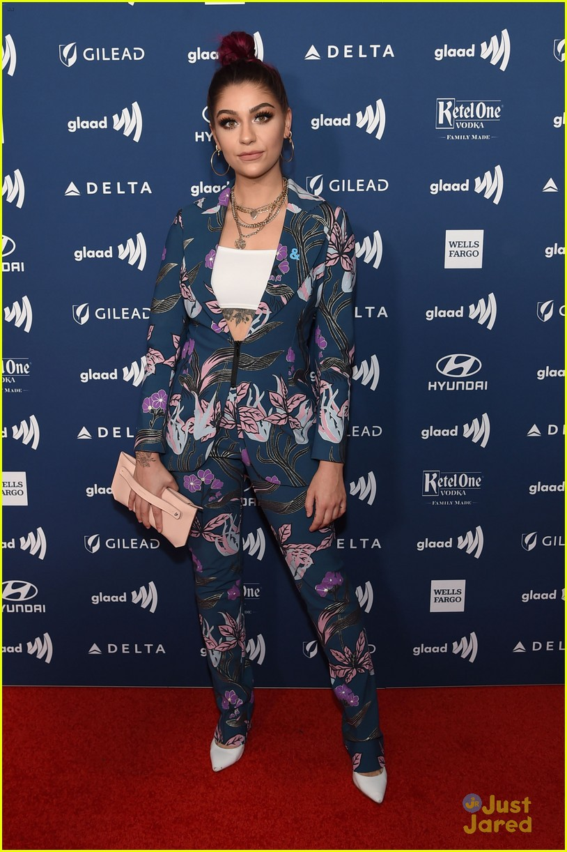 lilly singh adam rippon andrea russett glaad media awards 01