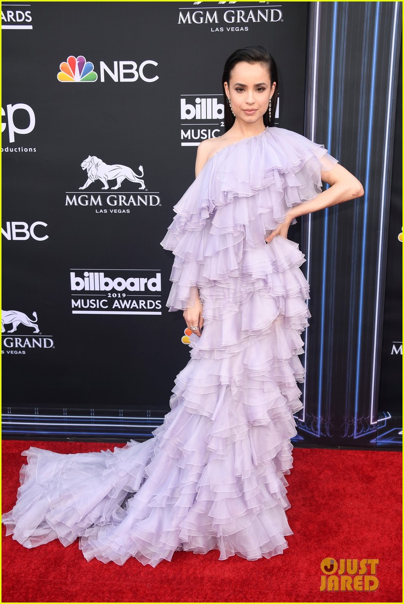 Sofia Carson Stuns In A Purple Gown At Bbmas 2019 Photo