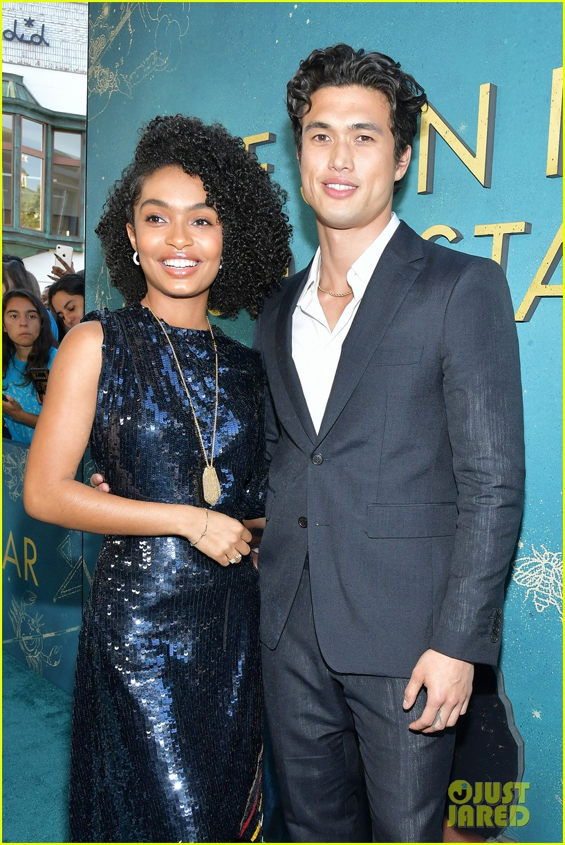 yara shahidi charles melton step out for the sun is also a star premiere 03