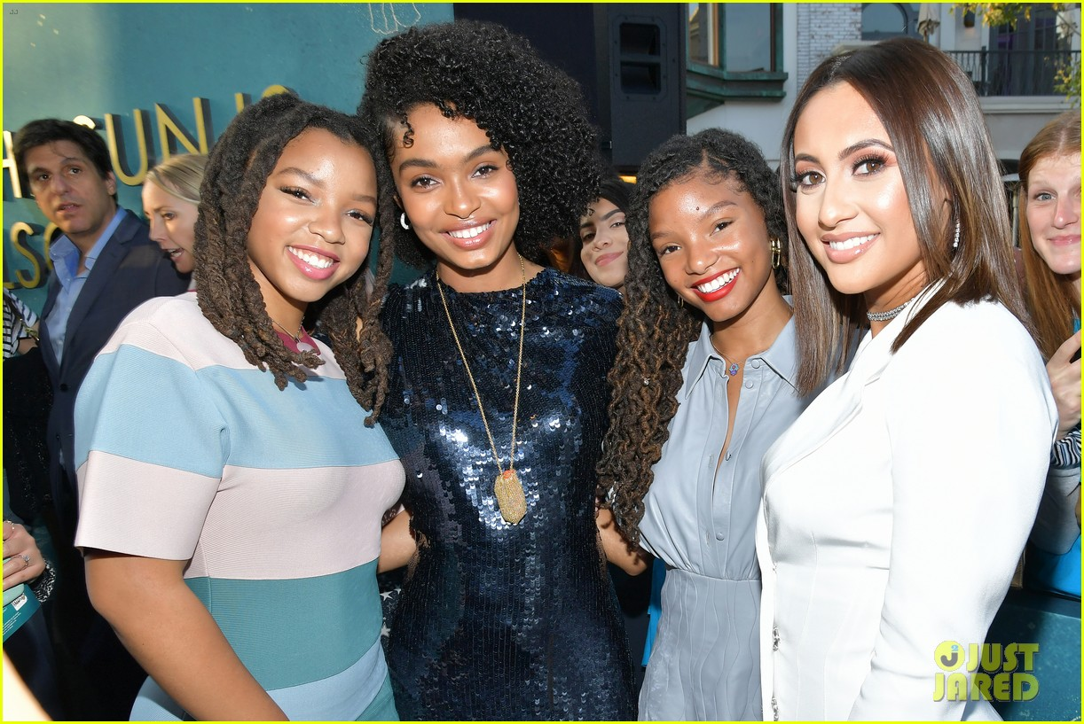 yara shahidi charles melton step out for the sun is also a star premiere 04